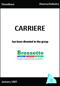 CARRIERE/BROSSETTE