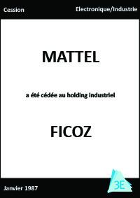 MATTEL/FICOZ