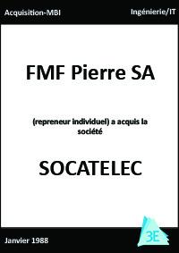 SOCATELEC/FMF Pierre SA