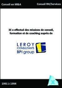 LEROY CONSULTANTS