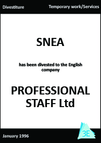 SNEA/PROFESSIONAL STAFF Ltd