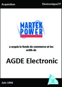 MARTEK/AGDE Electronic