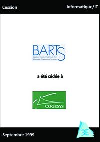 BARTS / COGESYS