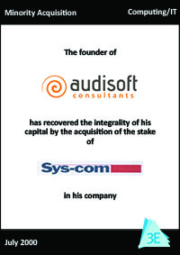 SYS-COM / AUDISOFT CONSULTANTS