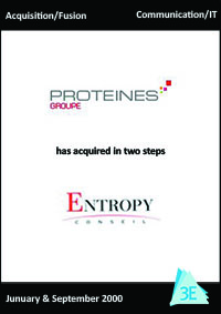 ENTROPY CONSEIL / PROTEINES GROUPE