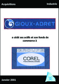 GIOUX ADRET / GROUPE COREL TECHNOLOGIE