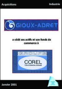 GIOUX ADRET / GROUPE COREL TECHNOLOGIE