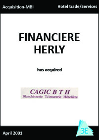 FINANCIERE HERLY / CAGIC B T H