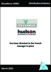 PULVOREX – HUDSON