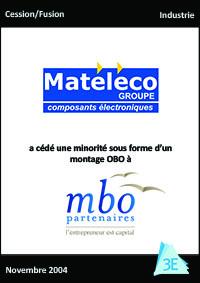MATELECO / MBO PARTENAIRES – OBO