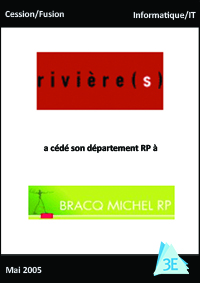RIVIERES / BRACO MICHEL RP