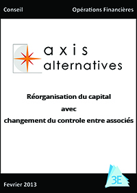 AXIS ALTERNATIVES – LMBO sponsorless