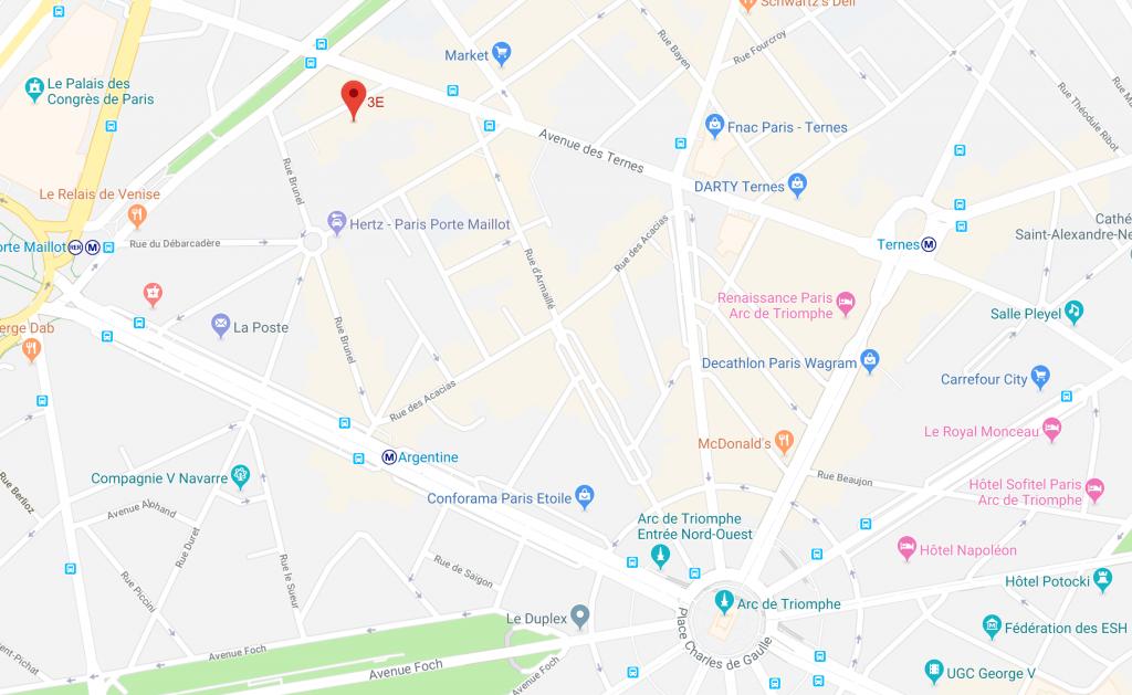 plan 3E 7 rue Labie