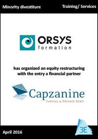 ORSYS / CAPZANINE