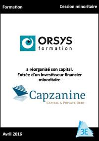 ORSYS/CAPZANINE